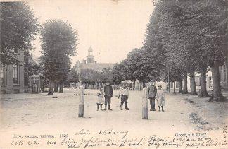 Ansichtkaart Elst (GD) Betuwe Groet uit 1905 Nauta 1426 HC25786