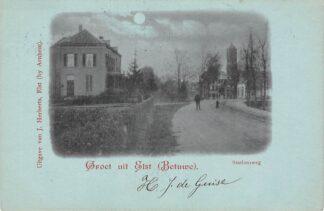 Ansichtkaart Elst (GD) Groet uit Elst Betuwe Stationsweg 1900 HC25792