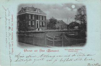 Ansichtkaart Elst (GD) Groet uit Elst Betuwe Arnhemsche Straatweg Bonds-Hotel 1900 HC25793