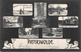 Ansichtkaart Paterswolde 1905 Acht' gezichtjes HC25800