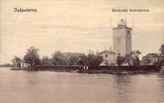 Ansichtkaart Oude Wetering Weerkundig observatorium 1910 Kaag Tulp HC25808