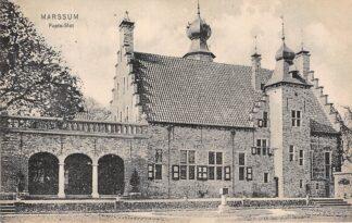 Ansichtkaart Marssum Popta-Slot Kasteel Waadhoeke Friesland HC25810