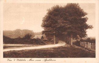 Ansichtkaart Uddel Garderen Van 't Uddeler Meer naar Apeldoorn 1927 HC25839