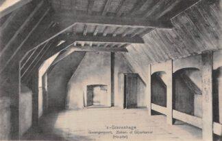 Ansichtkaart 's-Gravenhage Gevangenpoort Zieken- of Gijzelkamer Hospital HC25861
