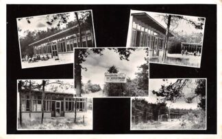 Ansichtkaart Best Kamphuis De Schietbaan Katholiek Bijzonder Gezins- en Jeugdwerk Rotterdam 1961 HC25894