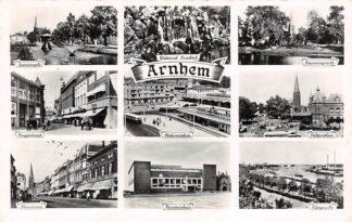 Ansichtkaart Arnhem 9-luik 1960 HC25898