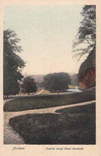 Ansichtkaart Arnhem Gezicht vanaf Hotel Sonsbeek HC25903