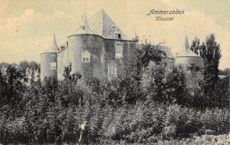 Ansichtkaart Ammerzoden Klooster Kasteel Maasdriel Betuwe 1912 HC25907