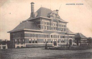 Ansichtkaart Aalsmeer Station Spoorwegen HC25908