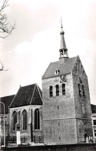 Ansichtkaart 't Zand (GR) Toren en Ned. Hervormde Kerk 1968 Eemsmond Groningen HC25921