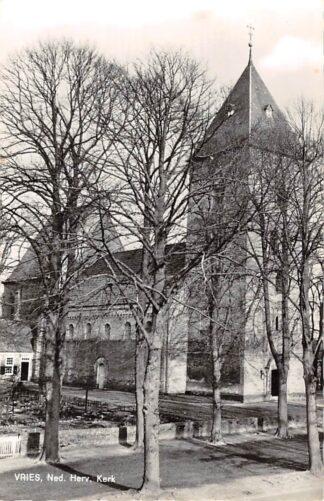 Ansichtkaart Vries Ned. Hervormde Kerk 1966 Tynaarlo HC25926