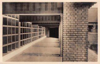 Ansichtkaart Velsen Crematorium Niswanden van Colombarium II Begraafplaats Westerveld HC25933