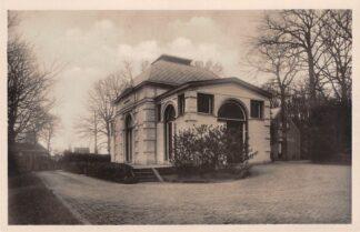 Ansichtkaart Velsen Ontvanggebouw van de Begraafplaats Westerveld en het het Crematorium Spoorhalte Driehuis Westerveld HC25937