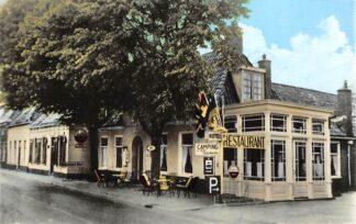 Ansichtkaart Visvliet Bondshotel restaurant Camping v.d. Ploeg 1969 Westerkwartier Groningen HC25996