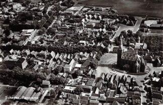 Ansichtkaart Schagen Panorama 1962 KLM Luchtfoto No. 15997 HC26029