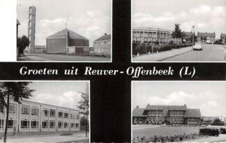 Ansichtkaart Reuver - Offenbeek Groet uit Vierluik Beesel HC26052
