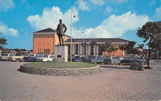Ansichtkaart Nederlandse Antillen Curaçao Post Office Postkantoor Noord-Amerika HC26066