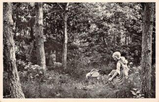 Ansichtkaart Kaatsheuvel Natuurpark De Efteling Roodkapje en de Wolf 1956 HC26091