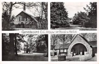Ansichtkaart Heiloo Genadeoord O.L. Vrouw ter Nood 1951 Kerk HC26094