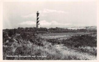 Ansichtkaart Haamstede Duingezicht met Vuurtoren 1942 HC26100