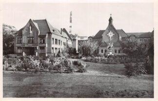 Ansichtkaart Eindhoven Pensionaat Eikenburg Hoofdgebouw en Kapel 1947 HC26104