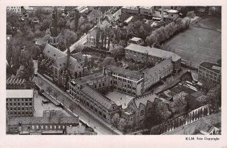 Ansichtkaart Eindhoven Klooster Marienhage en Gymnasium Augustianum 1948 KLM Luchtfoto No. 22866 HC26106