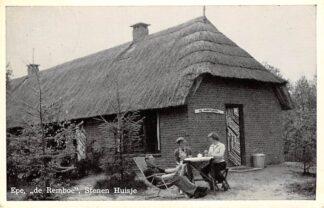 Ansichtkaart Epe de Remboe Stenen Huisje 1958 Veluwe HC26108