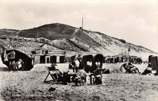 Ansichtkaart Camperduin - Groet (NH) Strand 1956 HC26116