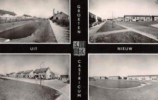 Ansichtkaart Nieuw Castricum Groeten uit 1962 HC26118
