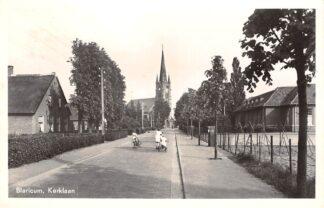 Ansichtkaart Blaricum Kerklaan 1958 HC26133