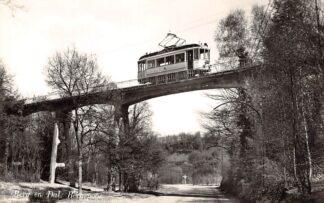 Ansichtkaart Berg en Dal Bergspoor met tram Nijmegen 1957 HC26136