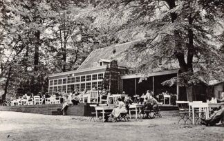 Ansichtkaart Amerongen Hotel Cafe Restaurant Berghuis 1958 HC26149