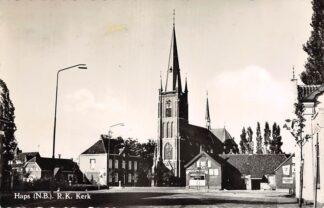 Ansichtkaart Haps (NB) R.K. Kerk 1961 Cuijk HC26180