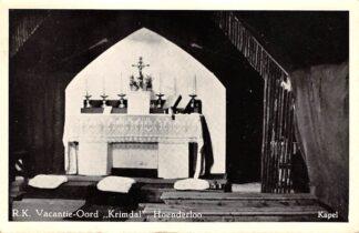 Ansichtkaart Hoenderloo R.K. Vacantie-Oord Krimdal 1952 HC26184