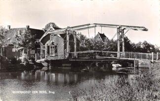 Ansichtkaart Nederhorst den Berg Brug 1962 HC26189
