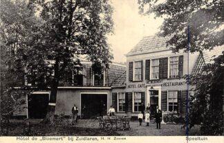 Ansichtkaart Zuidlaren Hotel De Bloemert H.H. Zeeven Speeltuin 1907 Drenthe HC26264