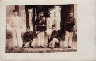 Ansichtkaart Militair Fotokaart Soldaten Onbekend HC26288