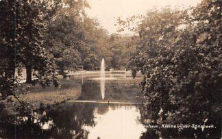 Ansichtkaart Arnhem Kleine vijver Sonsbeek Newo fotokaart HC26296