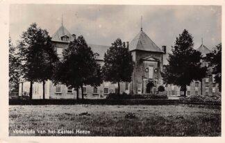 Ansichtkaart Heeze Voorzijde van het Kasteel Heeze 1949 HC26326