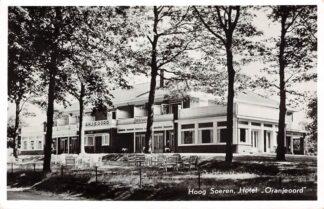 Ansichtkaart Hoog Soeren Hotel Oranjeoord 1958 HC26328