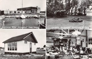 Ansichtkaart Camping Unie De Kaag Jachthaven Motel Eijmershof Nederhorst den Berg Vechtoever Voorthuizen Ponderosa Beekbergen Bungalow-Camping De Lange Bosk HC26331