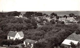 Ansichtkaart Groet (NH) Panorama 1955 HC26363