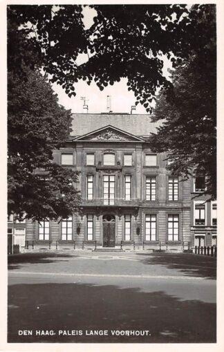 Ansichtkaart 's-Gravenhage Den Haag Paleis Lange Voorhout Type fotokaart HC26374
