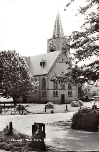 Ansichtkaart Elspeet Ned. Hervormde Kerk Veluwe HC26376