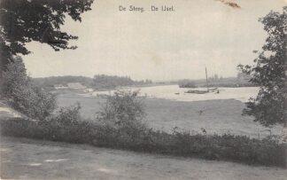 Ansichtkaart De Steeg De IJsel Binnenvaart schepen Scheepvaart 1929 HC26394