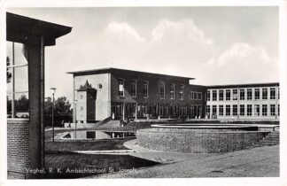 Ansichtkaart Veghel R.K. Ambachts school St. Joseph 1959 HC26413
