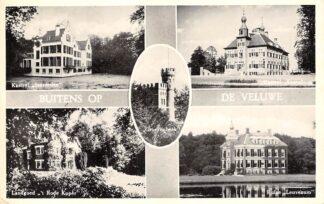 Ansichtkaart Buitens op de Veluwe Kasteel Staverden Groevenbeek Essenburg Landgoed 'r Rode Koper en Huize Leuvenum HC26416