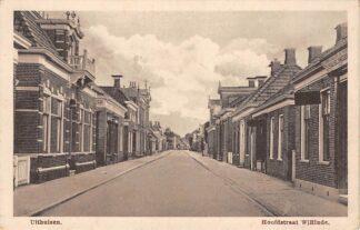 Ansichtkaart Uithuizen Hoofdstraat W/Einde Het Hoge Land Groningen HC26420