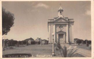 Ansichtkaart Brazilië S. carlos-Largo S. Benedicto Fotokaart Brasil Zuid-Amerika HC26430