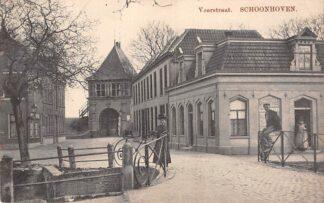 Ansichtkaart Schoonhoven Veerstraat 1911 de Gruijter HC26433